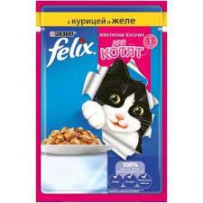 12333330 — Купить <b>влажный корм для котят</b> Purina Felix ...