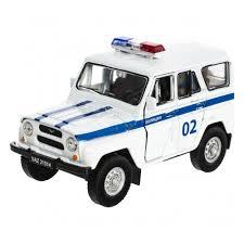 Игрушка <b>WELLY</b> 42380PB <b>Модель машины</b> УАЗ 31514 Полиция ...