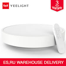 Original xiaomi <b>youpin</b> Yeelight <b>Smart</b> Ceiling Light Lamp Remote ...