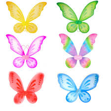 <b>1pc Butterfly Fairy</b> Wings Dress Up Wings Birthday Party Favor ...