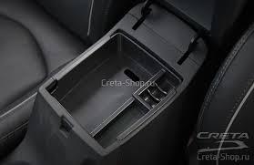 Интерьер Hyundai Creta - <b>Дополнительный бокс в</b> подлокотник ...