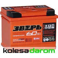 """Купить аккумулятор легковой """"<b>ЗВЕРЬ</b>"""" <b>6СТ</b>-<b>60.1</b> (60Ач п.п) в Орске ..."""