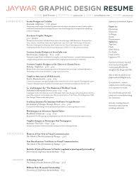 resume samples for graphic designer  socialsci cophotography resume sample jaywar graphic design resume resume