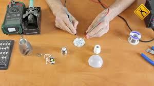 Как собрать <b>светодиодную</b> (<b>LED</b>) лампу своими руками - YouTube