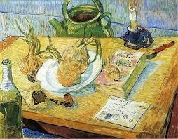 Still Life with Onions <b>Vincent Van</b> Gogh <b>Reproduction</b>