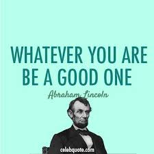 Abraham Lincoln Quote (About the targets of smart goals success be ... via Relatably.com