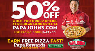 papa johns coupons codes