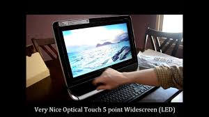 <b>HP Pavilion TouchSmart</b> Review 20-f394 All-In-One - YouTube