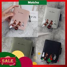 <b>Short Student Wallet Korean</b> Cute Small Fresh Fold Mini Purse ...