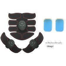 8 Packs <b>Wireless Muscle Stimulator EMS</b> Stimulation Body Slimming ...