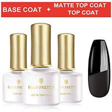 BORN PRETTY Base Coat and Top Coat Set with ... - Amazon.com