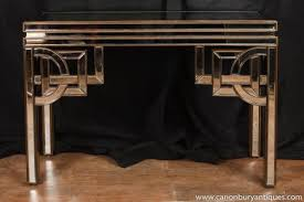 art deco mirrored console table hall tables 1920s furniture art deco mirrored furniture