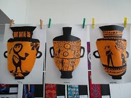 Amazing Greek Pottery Kids Encyclopedia   Children     s Homework Help     Miu Borse     Furniture Appealing Greek Vase Images Of New In Plans Free      Greek Vases For Kids Amazing Furniture Decorative Ancient