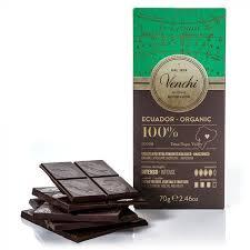 Buy Venchi <b>Organic</b> 100% Ecuadorian Dark <b>Chocolate Bar</b> 2.46oz