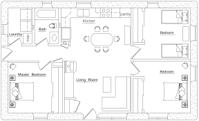 Rectangular Square   Earthbag House Plans   Page Craftsman  click to enlarge