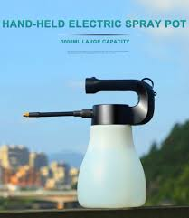 3000ML Large Capacity <b>Hand held Electric</b> Spray Pot Portable Mist ...