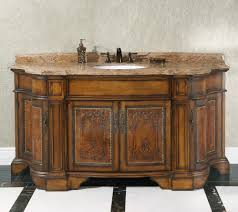 traditional style antique white bathroom:  images about antique bathroom vanities on pinterest black granite marble top and single sink vanity