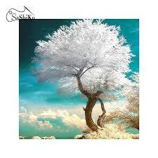 <b>5D Diy Diamond Embroidery</b> White Tree – Inlovearts