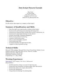 data analytics resume getessay biz data analyst example data analyst example page 1 inside data analytics