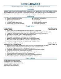 best fitness and personal trainer resume example livecareer create my resume