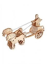 <b>Сборная модель Wooden City</b> Римская колесница 69 дет. WR301