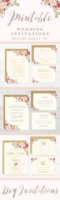 best ideas about wedding invitation templates making wedding invitations