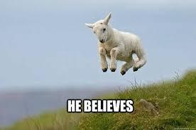 Courageous Sheep memes | quickmeme via Relatably.com