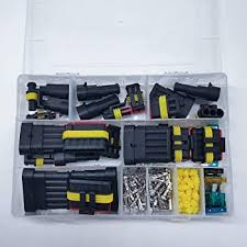 Connector Adapters <b>1 2</b> 3 4 5 6 Pin Mix Way <b>Car</b> Sealed Waterproof ...