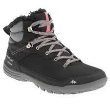 <b>Ботинки Quechua</b> Женские для зимних походов SH100 WARM MID