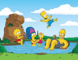 HD Simpsons wallpaper.