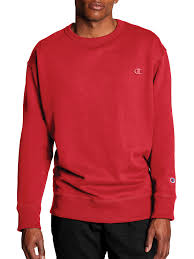 Champion Womens Sweatshirt Fleece Crew Script Logo <b>Plus Size</b> ...