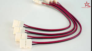 <b>Коннекторы</b> для SMD <b>светодиодной ленты</b> - YouTube