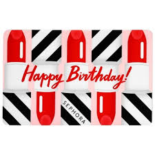 Birthday Gift Card | Sephora