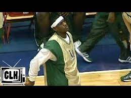 LeBron James UNSEEN High School Footage - Akron St Vincent St ...