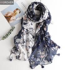 <b>VISROVER</b> Fashion <b>Summer Scarf</b> For <b>Women Scarf</b> For Lady ...