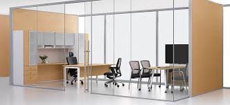 alur glass and dividing wall system architects sliding door office