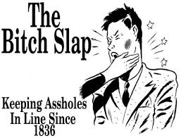 Image result for bitch slap images