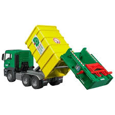<b>Игрушка Bruder Man</b> TGS Мусоровоз Green-Yellow 03-764 купить ...