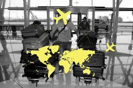 Alguns países se destacam como áreas de atração e outros como áreas de repulsão populacional.
