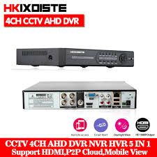 Home Security CCTV <b>AHD</b> DVR 4Ch 1080P Video Recorder 4CH ...