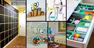 25 practical office organization ideas and tips for the busy modern day professional cute diy projects bathroomcute diy office homemade desk