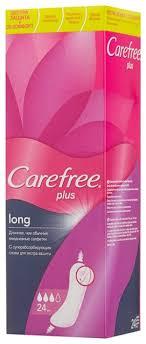 <b>Carefree прокладки</b> ежедневные <b>Plus Long</b> — купить по выгодной ...