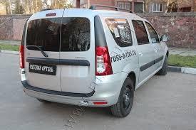 <b>Защитная</b> накладка заднего <b>бампера</b> Lada (ВАЗ) Largus 2012 ...