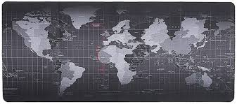 Shuohu Large World Map Pattern Mouse Pad Anti ... - Amazon.com