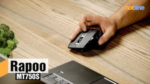 <b>Rapoo</b> MT750S — обзор беспроводной <b>мыши</b> - YouTube