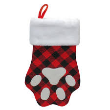 Northlight 15.5 in. Red and Black Buffalo Plaid Polyester <b>Pet</b> ...