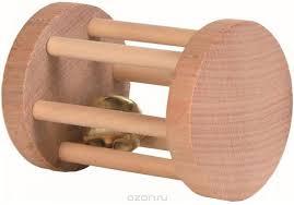 """Купить Игрушка для грызунов <b>Trixie</b> """"Барабан с бубенчиком"""", 5 х ..."""