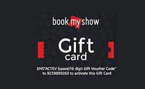 Amazon Offer | Get 50% Off on BookMyShow Gift Vouchers (Max Rs ...