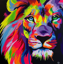 Pin by Gustavo Zalazar on Oleo painting in 2019 | Lion painting ...