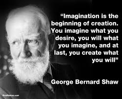 On Imagination - George Bernard Shaw Quotes via Relatably.com